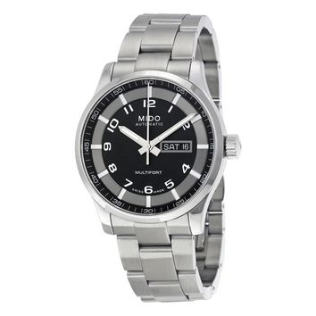 Mido Multifort Automatic Black Dial Mens Watch M005.430.11.052.80