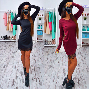 Summer Chiffon Blouse WomenElegant Dresses Casual Bodycon vestidos Plus size