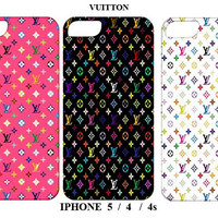 Iphone 5/4/4s Case-Louis Vuitton Fashion Cover - Iphone 5 case,Iphone 4/4s case,Iphone 5 cover,Iphone 4 /4s cover,Iphone 5 /4 / 4s skin