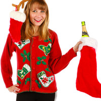 Adult Christmas Sux Ugly Christmas Sweater