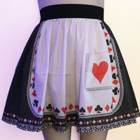 Gothic Alice Skirt by GoFollowRabbits on Etsy