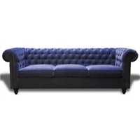 Christopher Sofa In Indigo