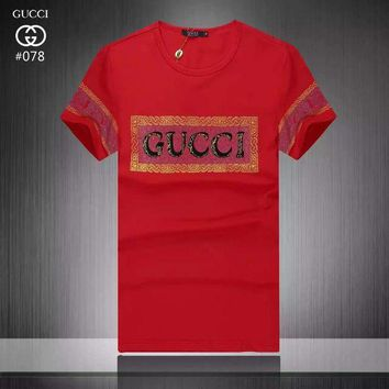 DCCKIN2 Cheap Gucci T shirts for men Gucci T Shirt 214354 25 GT214354