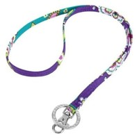 Vera Bradley Lanyard in Heather