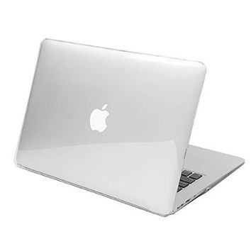 "Macbook air 13 inch case, Pasonomi® Rubberized Hard Case for Apple MacBook Air 13.3"" (A1466 & A1369) Shell Cover (Crystal Clear)"