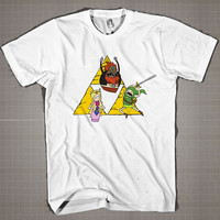 Adventure Of ZELDA  Mens and Women T-Shirt Available Color Black And White