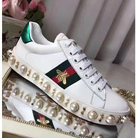 GUCCI Pearl casual women's shoes