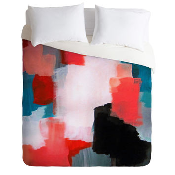 Natalie Baca Big Dreams Duvet Cover
