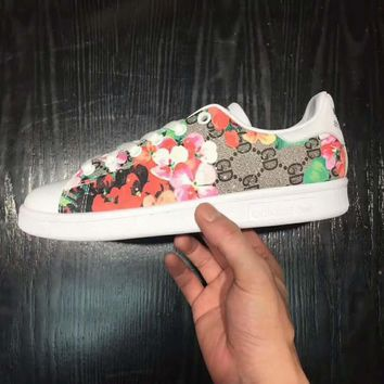 Gucci Adidas Stan smith Flats Sneakers Sport Shoes B-DXTY-XZ