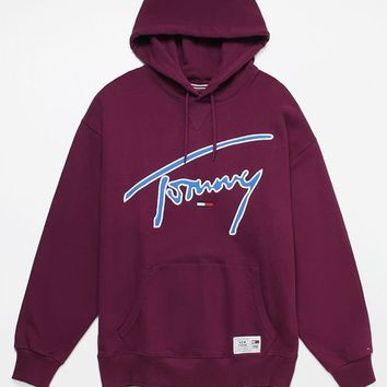 Tommy Jeans Signature Pullover Hoodie | PacSun