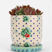 Urban Outfitters - Plum & Bow Floral Pattern Planter