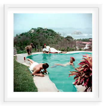 Slim Aarons, Del Rio by the Pool, Photographs