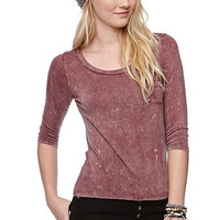 LA Hearts Washed Pocket Tee at PacSun.com