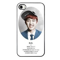 KPOP EXO MEMBER XOXO IPHONE4 CASE (DO)