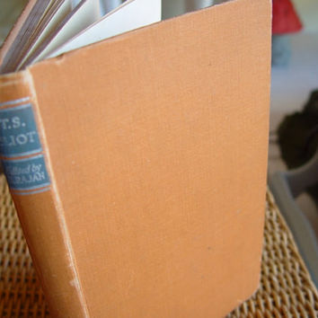 "Vintage Book, ""T.S. Elliot, A Study of his Writings"" , 1947"