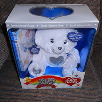 Swarovski Crystal Care Bears 25th Anniversary Tender Heart Bear