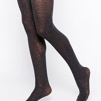 Gipsy   Gipsy Quilted Geometric Tights at ASOS