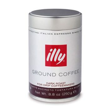 illy Ground Coffee, Dark Roast