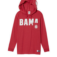 University Of Alabama Campus Hoodie Tee - PINK - Victoria's Secret