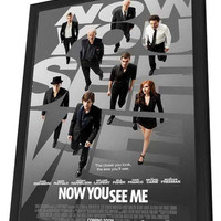Now You See Me 27x40 Framed Movie Poster (2013)