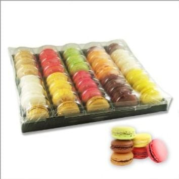French Macarons Assortment - Classic Selection - 6 Flavors - 35 Pieces