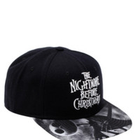 The Nightmare Before Christmas Logo Snapback Hat