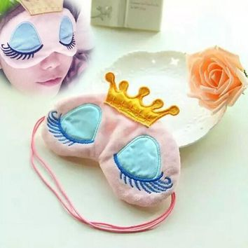 Cartoon Princess Sleep Mask