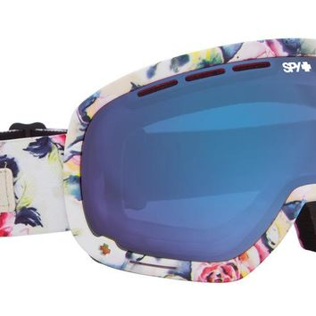 Spy Marshall Goggles Tokyo Rose/Blue Contact Lens (+Bonus Lens) Snow Goggles at 7TWENTY Boardshop, Inc