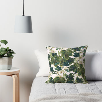 'Wild Forest #redbubble #decor #buyart' Throw Pillow by 83oranges
