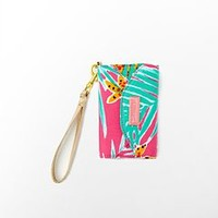 FINAL SALE - Ring Me Up Wristlet Print - Lilly Pulitzer
