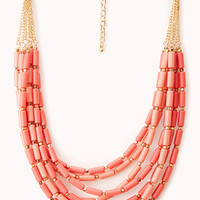 FOREVER 21 Down to Earth Beaded Necklace