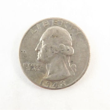 1948 George Washington Quarter Dollar Collectible Coin