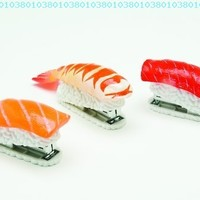 DCI Sushi Mini Stapler, Assorted Styles, 14444