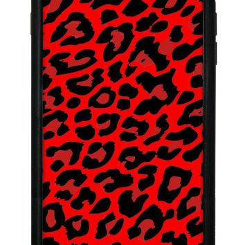 Red Leopard iPhone 6/7/8 Plus Case