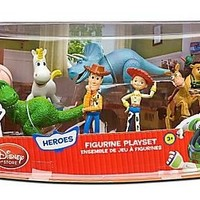 Disney Toy Story 3 Heroes Figure Play Set -- 8-Pc.