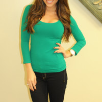 The Softest Shirt Ever: Kelly Green
