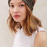 Urban Renewal Recycled Lurex Headband- Assorted One
