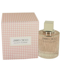 Jimmy Choo Illicit Flower by Jimmy Choo Eau De Toilette Spray 3.3 oz