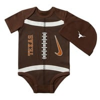 Nike Texas Longhorns Football Bodysuit - Baby, Size: