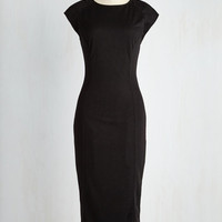 Long Short Sleeves Sheath A Sigh Is Just a Siren Dress