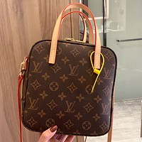 LV Louis Vuitton New fashion monogram print leather women shoulder bag crossbody bag handbag