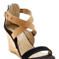 Kenneth Cole | Oh Ava Suede Wedge Sandal | Nordstrom Rack