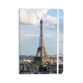 "Philip Brown ""Eiffel Tower"" Gold Black Everything Notebook"