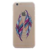 Rainbow Feather Case Ultrathin Cover for iPhone 5se 5s 6s Plus Gift 41