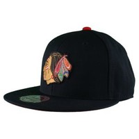 Mitchell & Ness Mitchell & Ness NHL Chicago Blackhawks Vintage Logo Fitted Hat Hats
