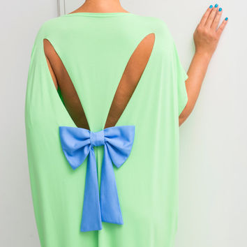 Light Green Backless dress, Maxi Dress, caftan, Plus size dress, Backless dress, Open back dress,Oversized dress,Cover up dress,Summer dress