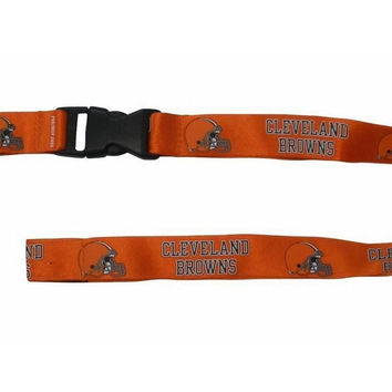 NFL Cleveland Browns Breakaway Lanyards with Key Ring