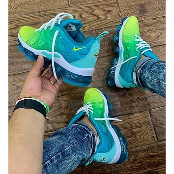 Nike Air Vapormax Plus Fashion Woman Men Casual Running Sport Shoes Sneakers Green