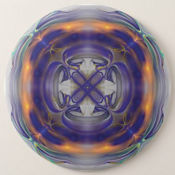 Fractal Art Pinback Button