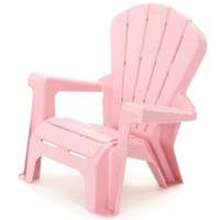 Kids or Toddlers Plastic Chairs,Use For Indoor,Outdoor,Home,Garden,Patio,Beach,Bedroom Versatile and Comfortable Back Support and Armrests Childrens Chairs.5 Colorful Little Tikes Contemporary Colors Make a Perfect Childs Chair. (PINK)